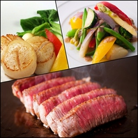 厳選食材を一番美味しい調理で、リーズナブルに・・・