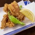 料理メニュー写真若鶏の竜田揚げ