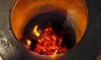 炭火で余分な油を落としたヘルシータンドリー
