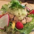 料理メニュー写真蒸し鳥 (葱タレ)