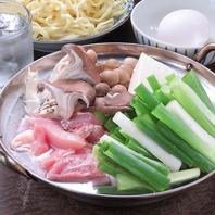 【定番アラカルト】鶏鍋(赤鶏) 1500円(税抜)