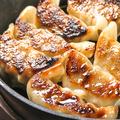 料理メニュー写真鶏の炭火焼き餃子