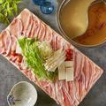 料理メニュー写真豚肉のしゃぶしゃぶ