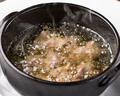 料理メニュー写真砂肝とネギ