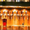 24種のタップが圧巻です★★★スタッフさんと会話しながら、楽しむクラフトビールは美味ですミ☆