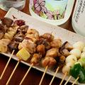 料理メニュー写真焼き鳥盛り合わせ(10 本)