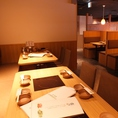 落着いてお食事をお楽しみ頂けるスタイリッシュな空間★神戸三宮エリアでしゃぶしゃぶ食べ放題宴会は温野菜におまかせ!飲み放題もあるので歓迎会・送別会・二次会など各種飲み会にもバッチリです!
