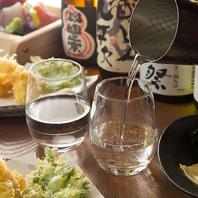 クーポンご利用でおすすめ日本酒をグラスでサービス♪