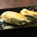 料理メニュー写真牡蠣の握り 二貫