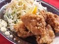 料理メニュー写真大人気!若鶏の唐揚げ