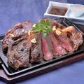 料理メニュー写真【3人前】横綱ステーキ~黒粋プライム牛~