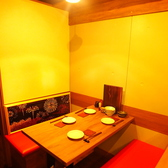 4名様テーブルは、プライベート飲み会や、女子会・ママ会に人気です☆