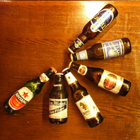 世界のビールも豊富にご用意♪