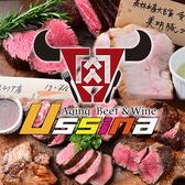 熟成肉バル ウッシーナ Ussina MeatCeller 栄2丁目 栄(ミナミ)/矢場町/大須/上前津のグルメ