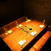 """【完全個室】六本木駅からスグ!大人の隠れ家空間。6名様までご利用可能 !接待や会社の飲み会、誕生日会など様々なシーンでお使い頂ける個室は、周りを気にせず楽しめる""""プライベート空間""""です。"""