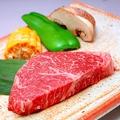料理メニュー写真【ラムステーキ】