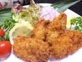 料理メニュー写真魚家のカキフライ