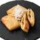料理メニュー写真モッツアレラチーズのきつね焼き