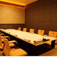 大切な方と特別な時間を・・VIP個室完備。