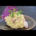 料理メニュー写真チーズと白味噌のポテトサラダ