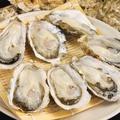 料理メニュー写真生牡蠣 中1個