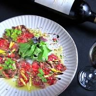 赤ワイン×肉料理…黒毛和牛ローストビーフ!