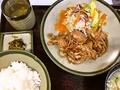 料理メニュー写真生姜焼定食