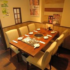 焼き肉宴会承ります!歓送迎会にもおすすめ☆全コース、プラス1500円で生ビール付の飲み放題に☆ご要望など気軽にお問合せください♪
