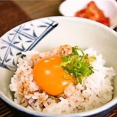 料理メニュー写真特選卵かけご飯