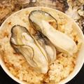 料理メニュー写真かき小屋の牡蠣ごはん