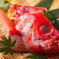 料理メニュー写真金目鯛刺し(コースメニュー一例)