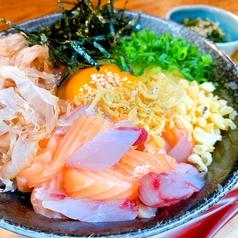 虎ノTKG~海鮮がのっけた贅沢な卵かけご飯~