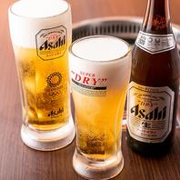 【上野の格安焼肉酒場】アサヒスーパードライ1杯290円