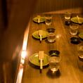 当店自慢のお食事をごゆっくりお愉しみいただけるテーブル席は当日のご利用におすすめです。自慢の山麓鶏や炊き立て釜飯など至極の和食を存分にお愉しみください。(中野・居酒屋・個室・焼き鳥・飲み放題・宴会)