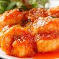 料理メニュー写真海老のチリソース/海老のマヨネーズ和え