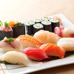 料理メニュー写真徳用寿司盛り合せ