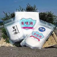 天日・手揉みにこだわったミネラルたっぷりの天然塩
