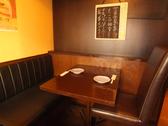 2名~4名用のテーブル席。二人で語らうのも良し。仲間と騒ぐのも良し!