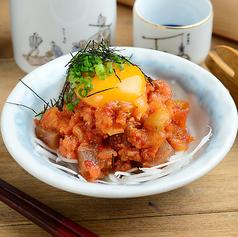 料理メニュー写真マグロキムチユッケ