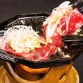 料理メニュー写真ネギPタンプレート焼き
