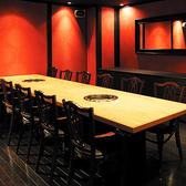 ジャズの流れる落ち着いた雰囲気の完全個室。接待や会社宴会に最適。