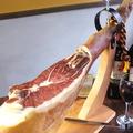 料理メニュー写真スペイン産の本格生ハム<2人前 約45g>