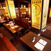 【上野で焼肉宴会】宴会最大45名様迄…フロア貸切可能