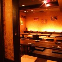 京室町での個室宴会!6名様~80名様まで承ります。