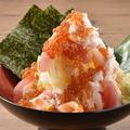料理メニュー写真海鮮こぼれ手巻き寿司