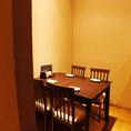 少人数様用の半個室有!ご友人との飲み会、女子会等にもオススメのお席です。自慢の料理と美味しいお酒で楽しいひと時をお過ごしください。
