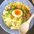 料理メニュー写真塩野菜ラーメン