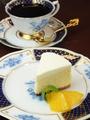 料理メニュー写真グリュックチーズケーキ