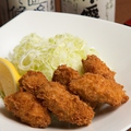 料理メニュー写真熱々!牡蠣フライ