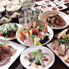 尾張名古屋の台所 山のコース写真